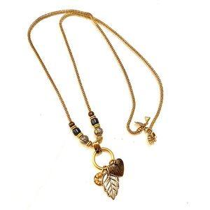 LIZ CLAIBORNE Vintage Gold necklace
